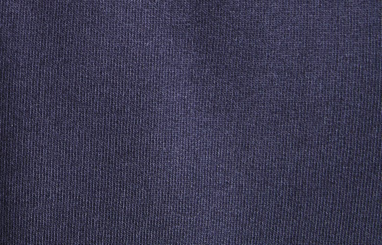 Zoom matiere sweat Volluto marine
